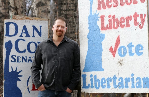 Libertarian Dan Cox