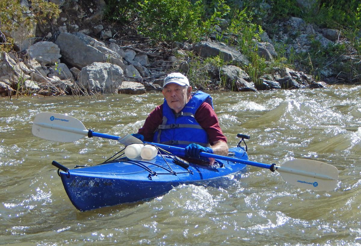 Still paddling