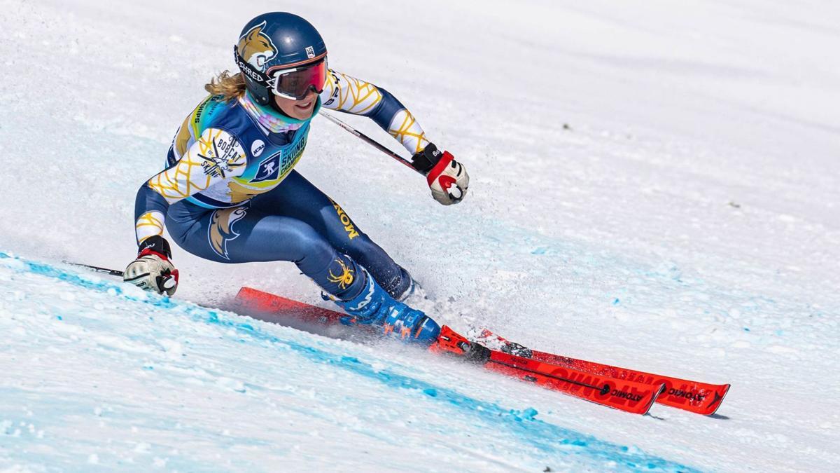 MSU skiing Tegan Wold