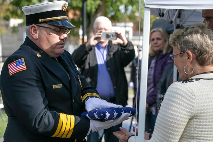 Family remembers fallen Billings firefighter during Montana State Firefighters Memorial ceremony