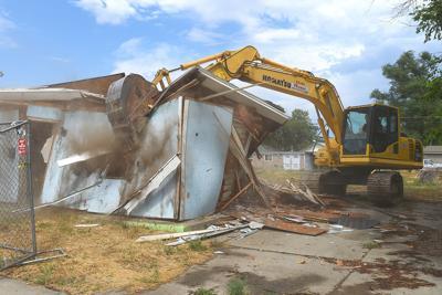 Housing demolition