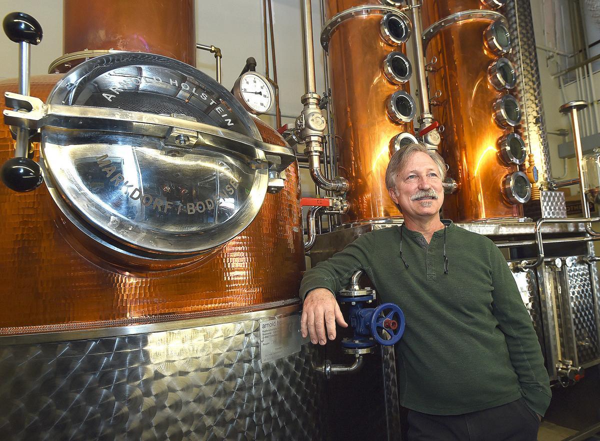 Undammed distillery