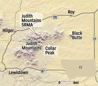Judith Mountains: Rocks, fish & history