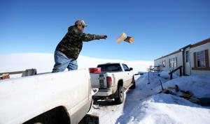 Northern Cheyenne digging out after storms, coordinating donations of heating fuel, hay and food