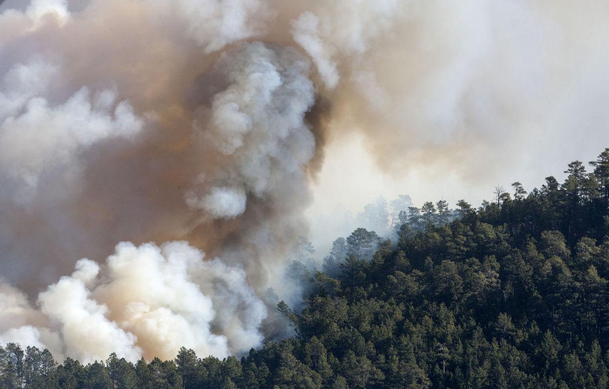 Black Hills fire