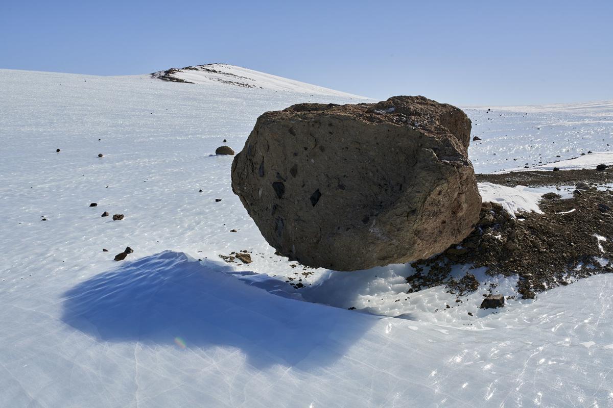 Glacial erratic