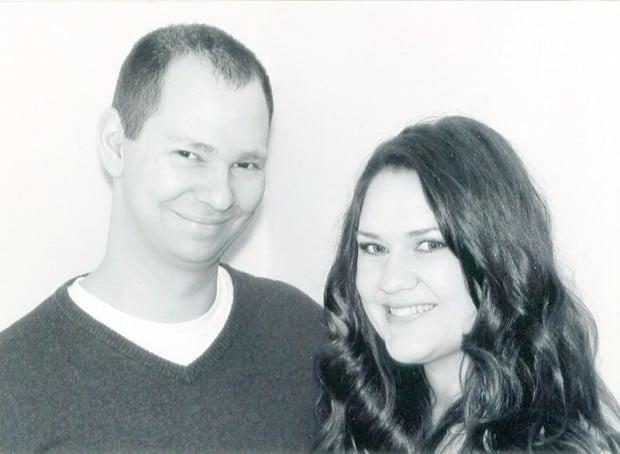 Travis Jones and Megan Purcell