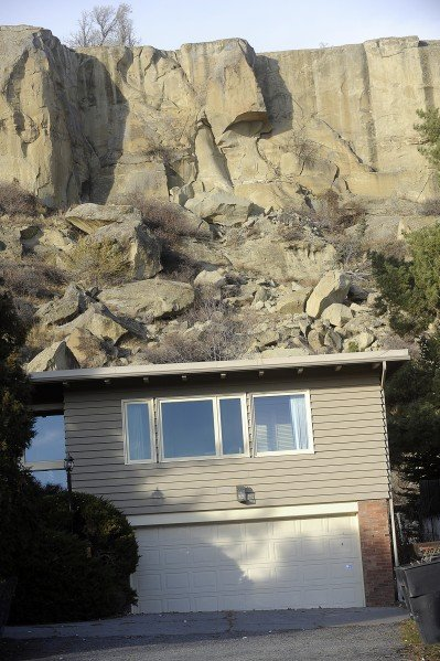 Rock to be removed