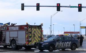 Pedestrian hit by car on King Avenue West