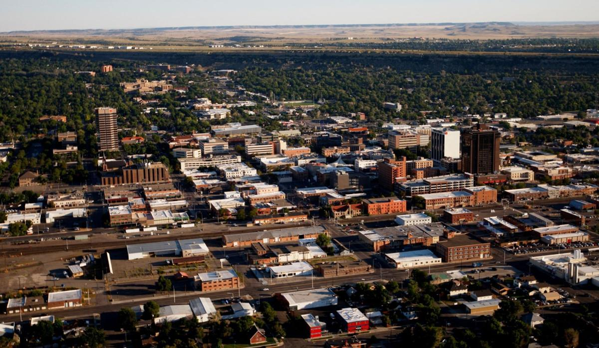 Downtown Billings skyline