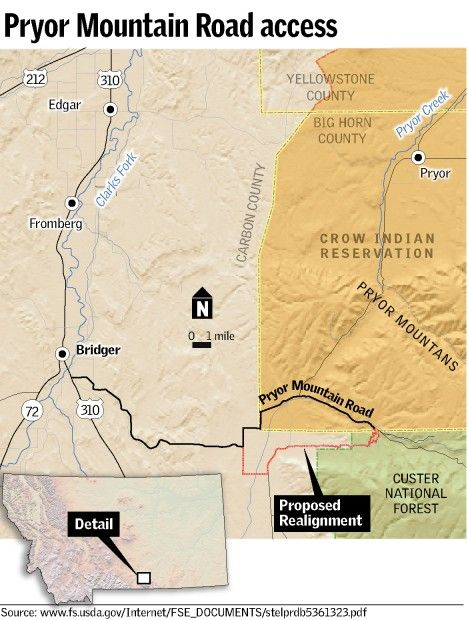 Forest Service eyes new route to Pryor Mountains | Montana News