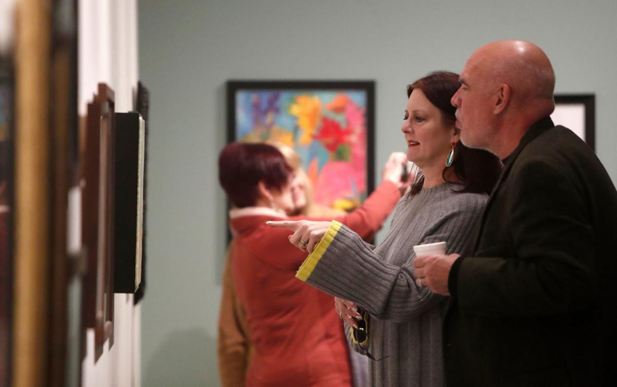 YAM 51st Annual Art Auction opening