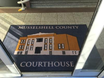 Musselshell County courthouse