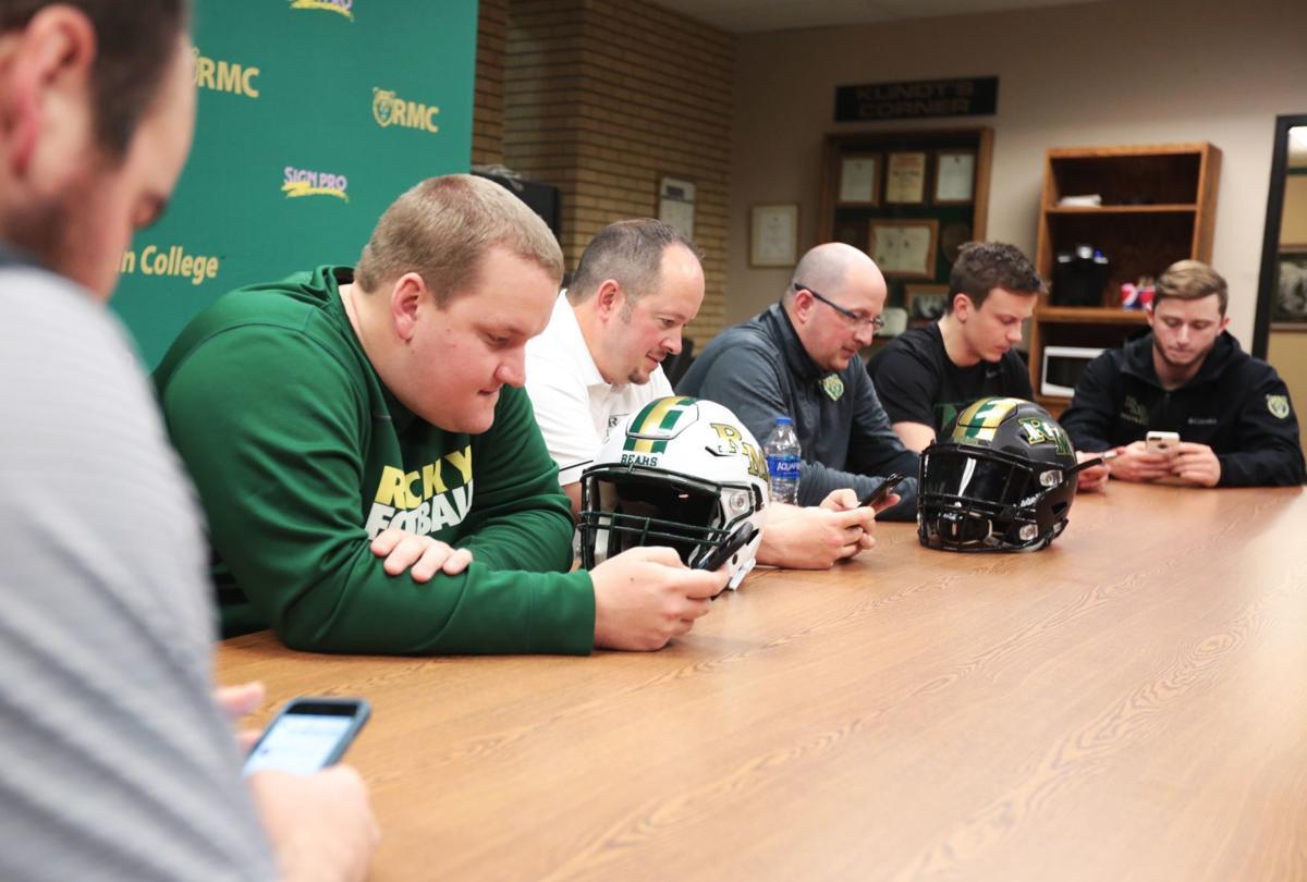 Rocky football signing