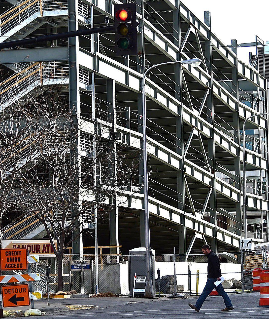 Work on Stillwater parking garage in downtown Billings slows down for the season | Billings Gazette