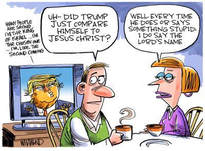 Trump, the 'chosen one'?