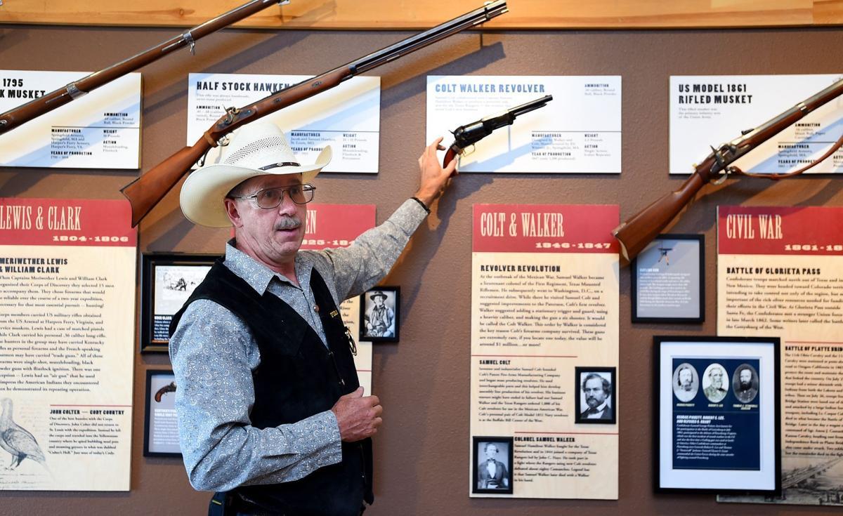 Cody firearms display