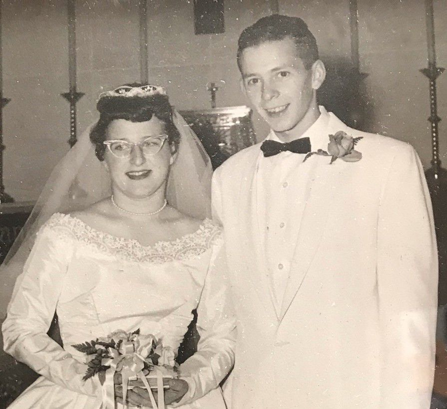 Betty and Gerald Koch in 1959