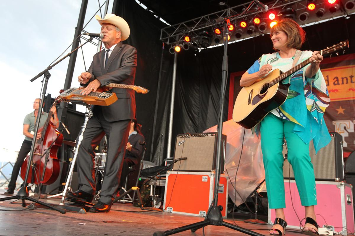 Junior Brown and Tanya Rae