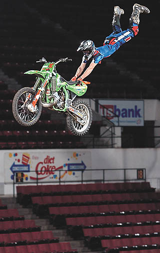 Motocross daredevils ready to fly at Metra