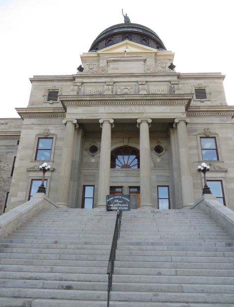 Montana Capitol steps