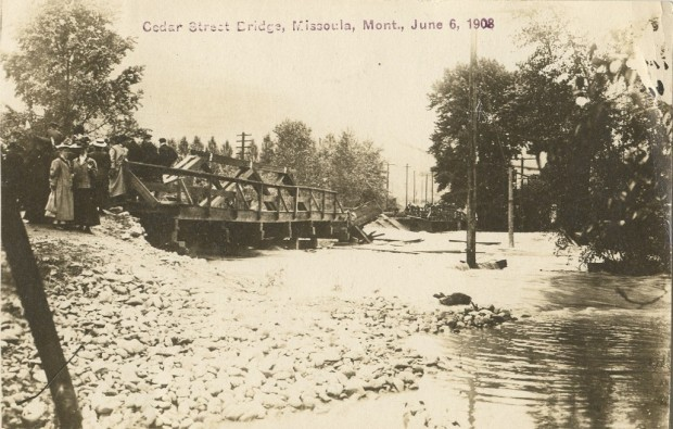 Cedar St. Bridge 1908