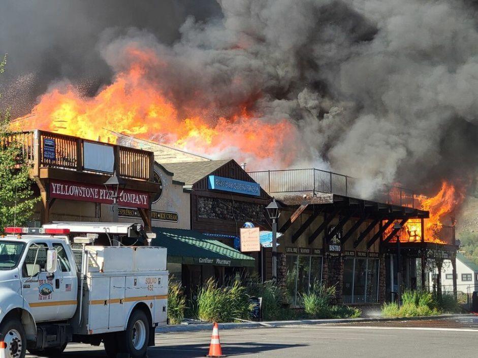 Gardiner fire