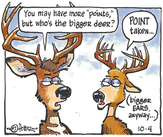 Just for kids: How do you count antler points?