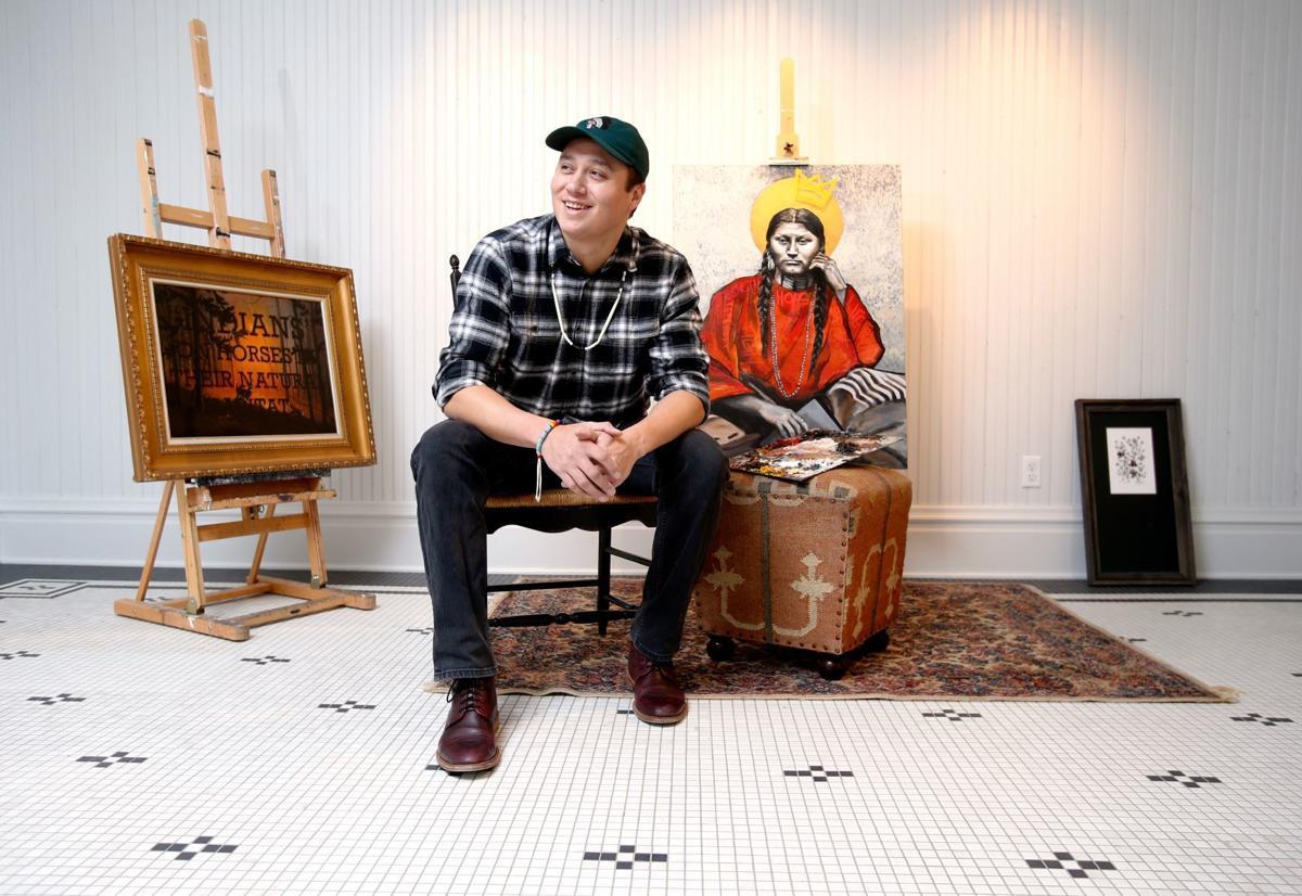 Artist Ben Pease
