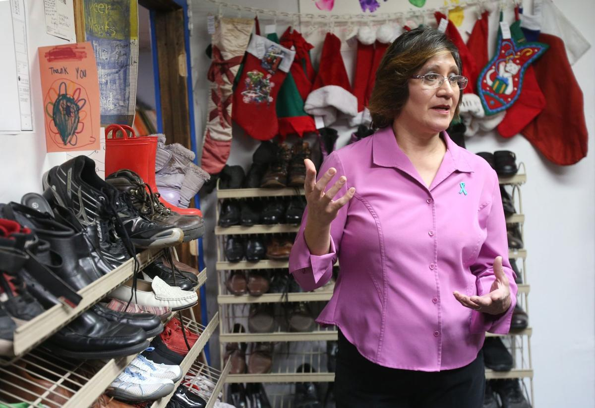 Store manager Suzette Shreffler