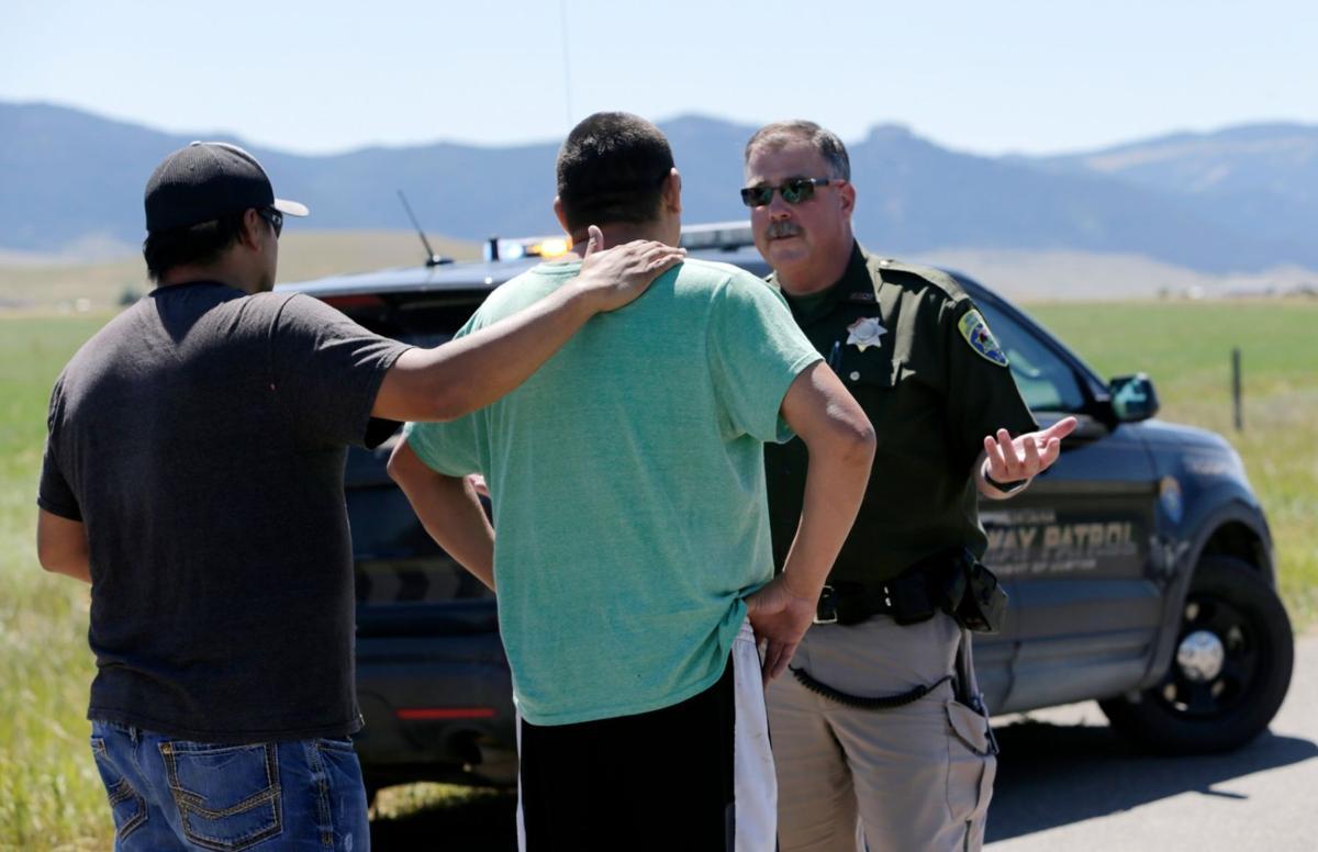 A Montana Highway Patrol deputy