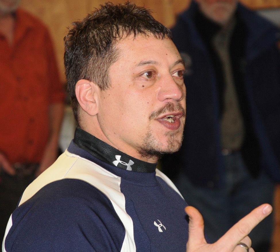 Rich Janssen, Salish Kootenai wildlife program director