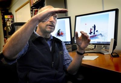 University of Montana geologist Joel Harper