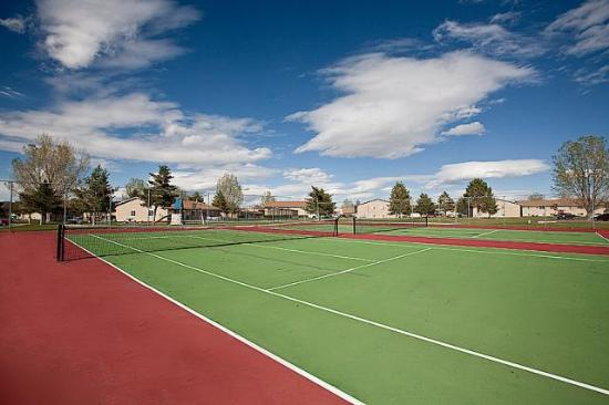 Olympic Village Tennis Court