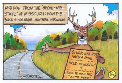 Traveling buck