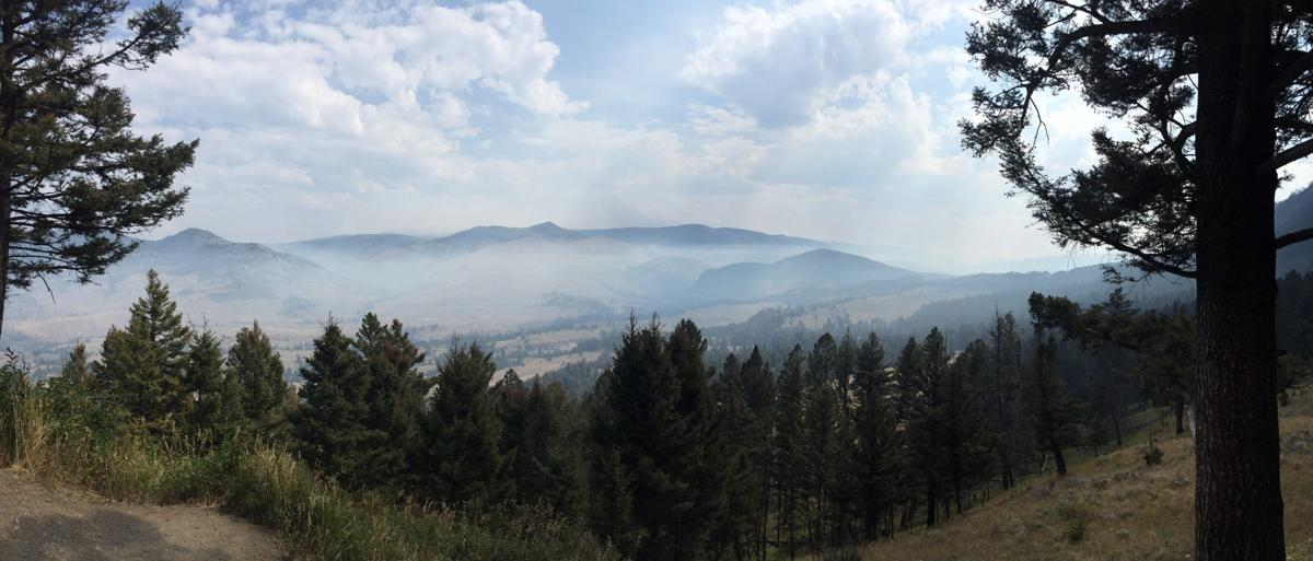 Yellowstone haze