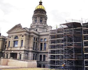 Capitol renovation lawsuit assessed by Wyoming Supreme Court