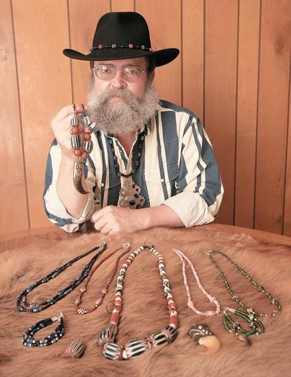 Selling the Old West: Trade beads add history to jewelry