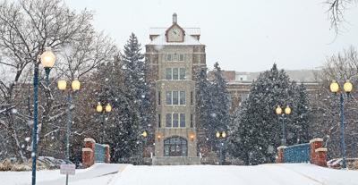 Snowy MSUB Campus