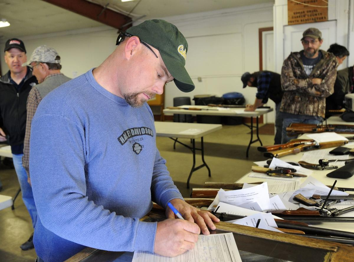 Carbon County Sheriff's Office gun auction