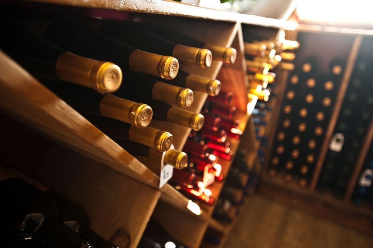 Yellowstone Cellars horizontal bottles