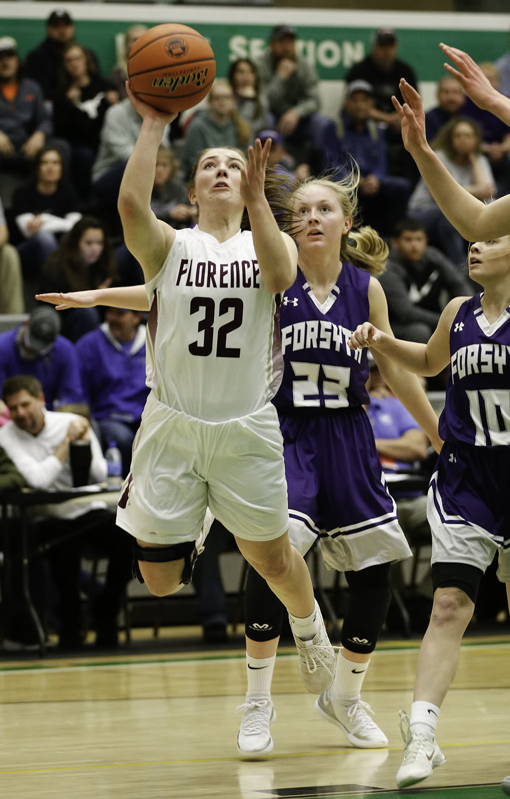 State B girls basketball: Florence-Carlton vs. Forsyth