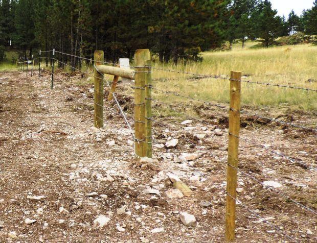 Durfee Hills fence