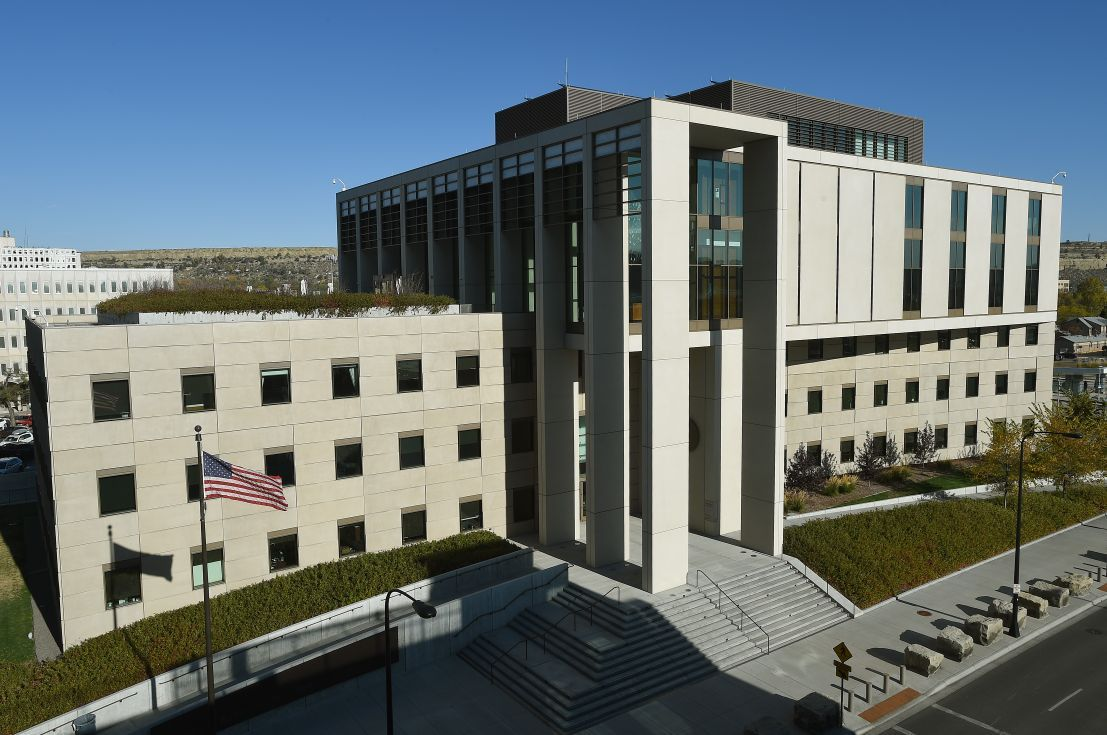 The James F. Battin United States Courthouse in Billings, Montana.