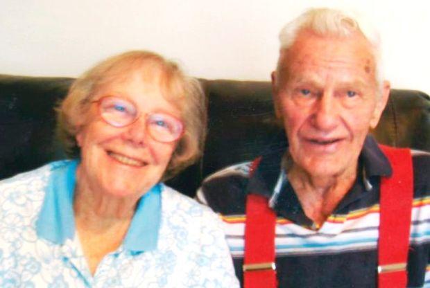 Cora and Vernon Sawyer today