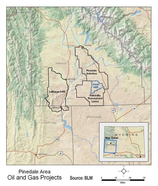 Pinedale energy development