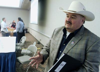Standing Rock Tribal Chairman Mike Faith
