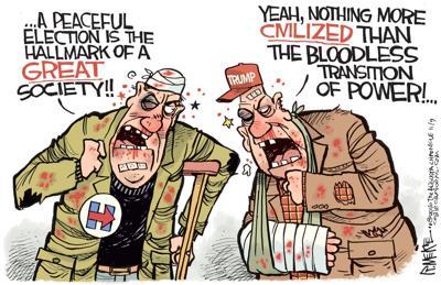 Campaign fight