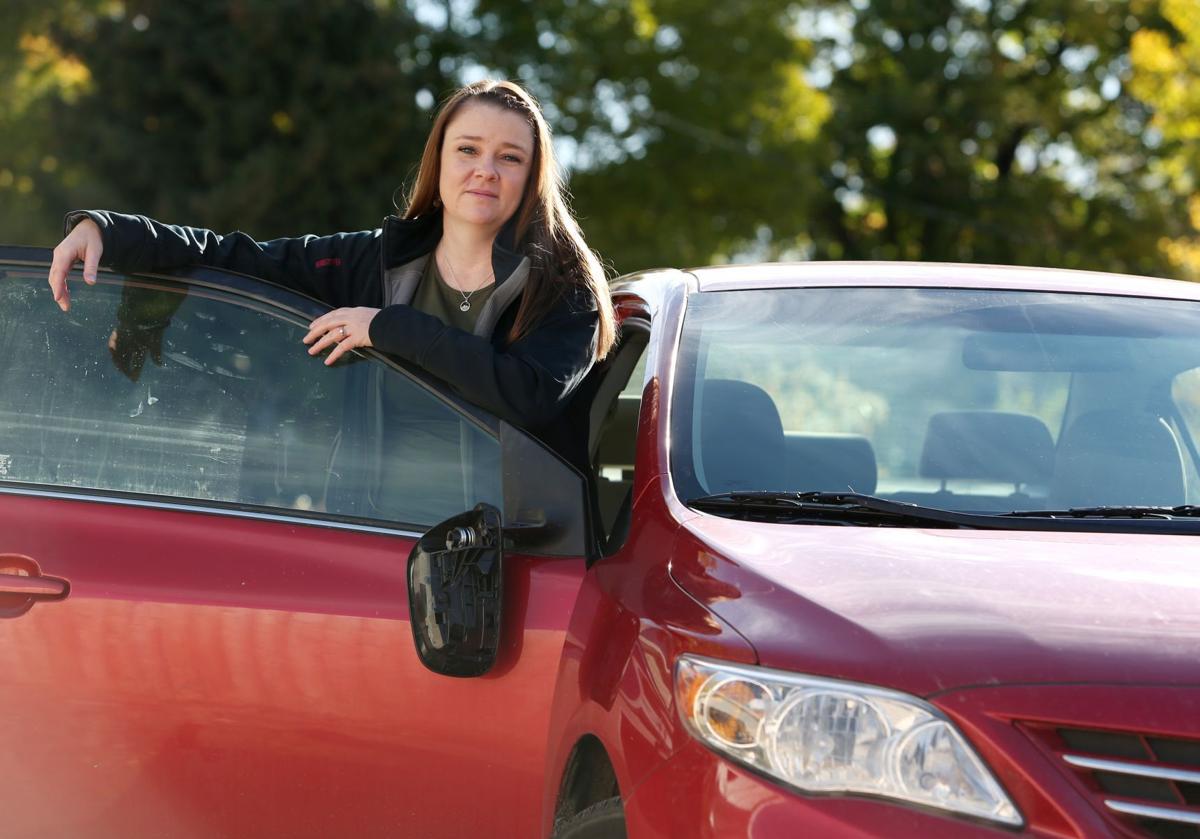 Katie Reinke's car