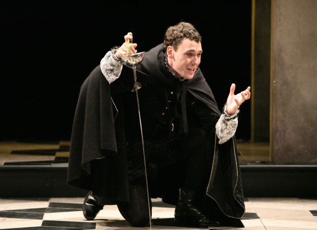 The immature and indecisive character of hamlet